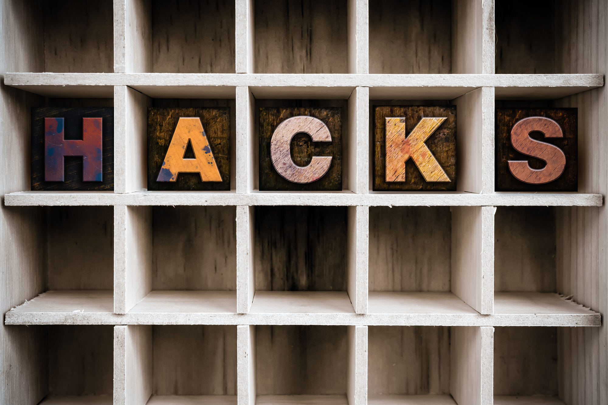 Property Management Hacks In Box Letters