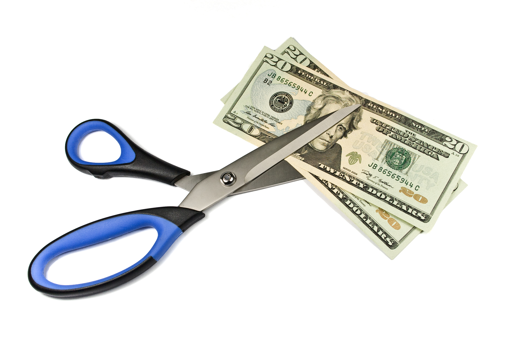 Scissors cutting retail property manager salaries in half