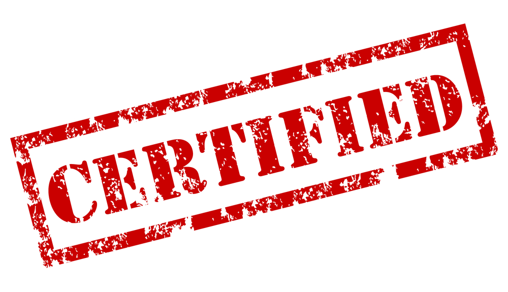 Faded Red Certified Stamp Top Property Management Certifications Blog