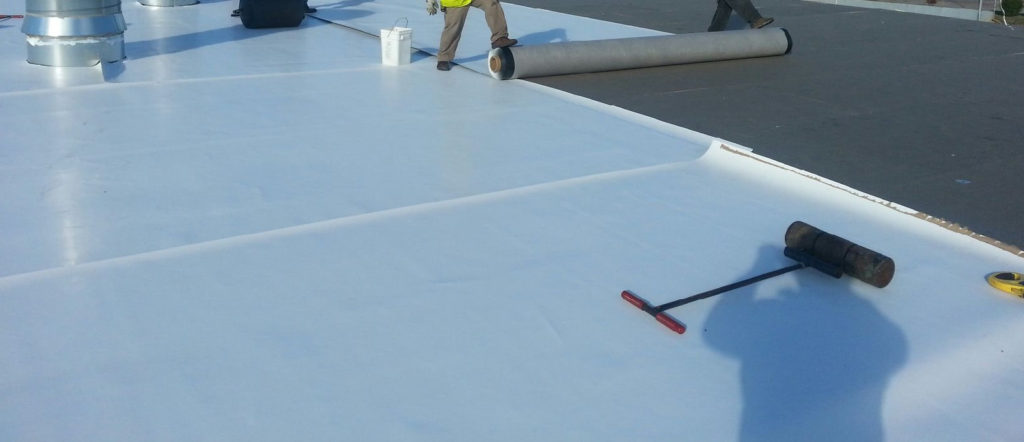 Installation of a TPO Roofing System For How Much Does A TPO Roof Replacement Cost Blog