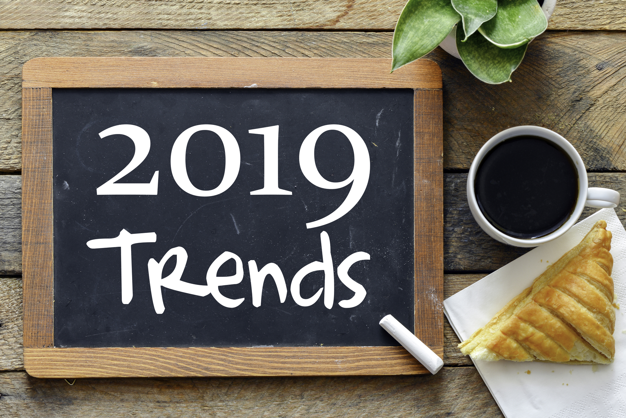 2019 Multifamily Marketing Trends On Chalk Board