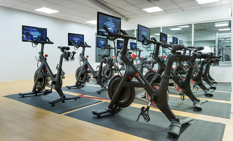 Peloton Bike Room For 2019 Apartment Amenity Guide