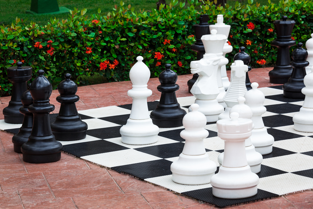 Outdoor Lawn Chess Set For 2019 Apartment Amenity Guide